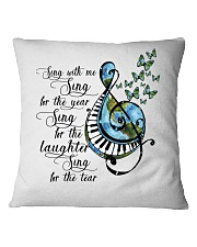 Sing With Me Sing For The Year Square Pillowcase thumbnail