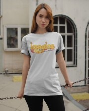 The World Will Live As One Classic T-Shirt apparel-classic-tshirt-lifestyle-19