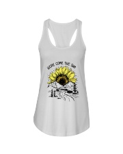 Here Comes The Sun Ladies Flowy Tank tile