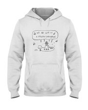 We All Live In Yellow Submarine Hooded Sweatshirt front