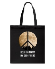 Hello Darkness - My Old Friend Tote Bag thumbnail