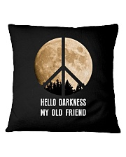 Hello Darkness - My Old Friend Square Pillowcase thumbnail