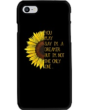 You May Say I'm A Dreamer Sun Flower Hippie Phone Case tile