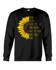 You May Say I'm A Dreamer Sun Flower Hippie Crewneck Sweatshirt thumbnail