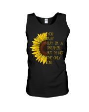 You May Say I'm A Dreamer Sun Flower Hippie Unisex Tank front