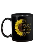 You May Say I'm A Dreamer Sun Flower Hippie Mug back