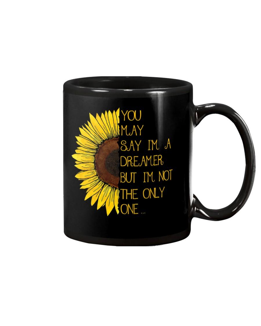 You May Say I'm A Dreamer Sun Flower Hippie Mug