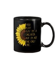 You May Say I'm A Dreamer Sun Flower Hippie Mug tile