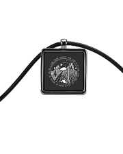 On A Dark Desert Highway Cool Wind In My Hair Cord Rectangle Necklace thumbnail