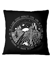 On A Dark Desert Highway Cool Wind In My Hair Square Pillowcase thumbnail