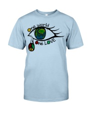 One World One Love Classic T-Shirt front