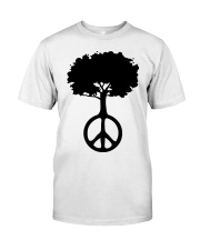 Hippie Tree Classic T-Shirt front