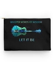 Whisper words of wisdom Accessory Pouch - Large thumbnail