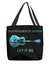 Whisper words of wisdom All-over Tote thumbnail