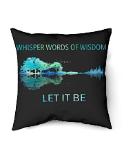 """Whisper words of wisdom Indoor Pillow - 16"""" x 16"""" thumbnail"""