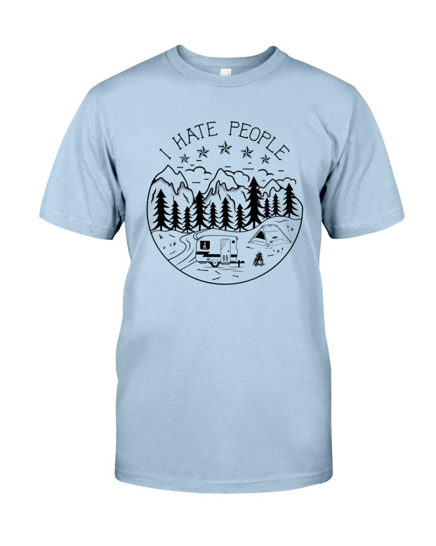 I Hate People Classic T-Shirt showcase