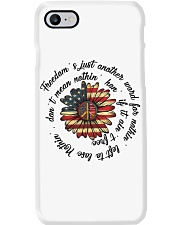 Freedom Is Just Another World Phone Case thumbnail