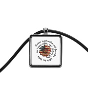 Freedom Is Just Another World Cord Rectangle Necklace thumbnail