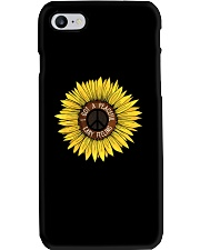 I Got A Peacful Easy Feeling Sun Flower Hippie  Phone Case thumbnail