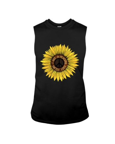 I Got A Peacful Easy Feeling Sun Flower Hippie