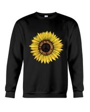 I Got A Peacful Easy Feeling Sun Flower Hippie  Crewneck Sweatshirt thumbnail