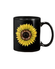 I Got A Peacful Easy Feeling Sun Flower Hippie  Mug thumbnail