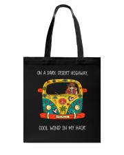 On A Dark Desert Highway Tote Bag tile