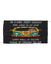 On A Dark Desert Highway Cloth face mask thumbnail