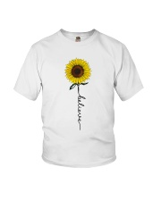Flowers Believe Hippie Youth T-Shirt thumbnail