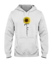 Flowers Believe Hippie Hooded Sweatshirt thumbnail