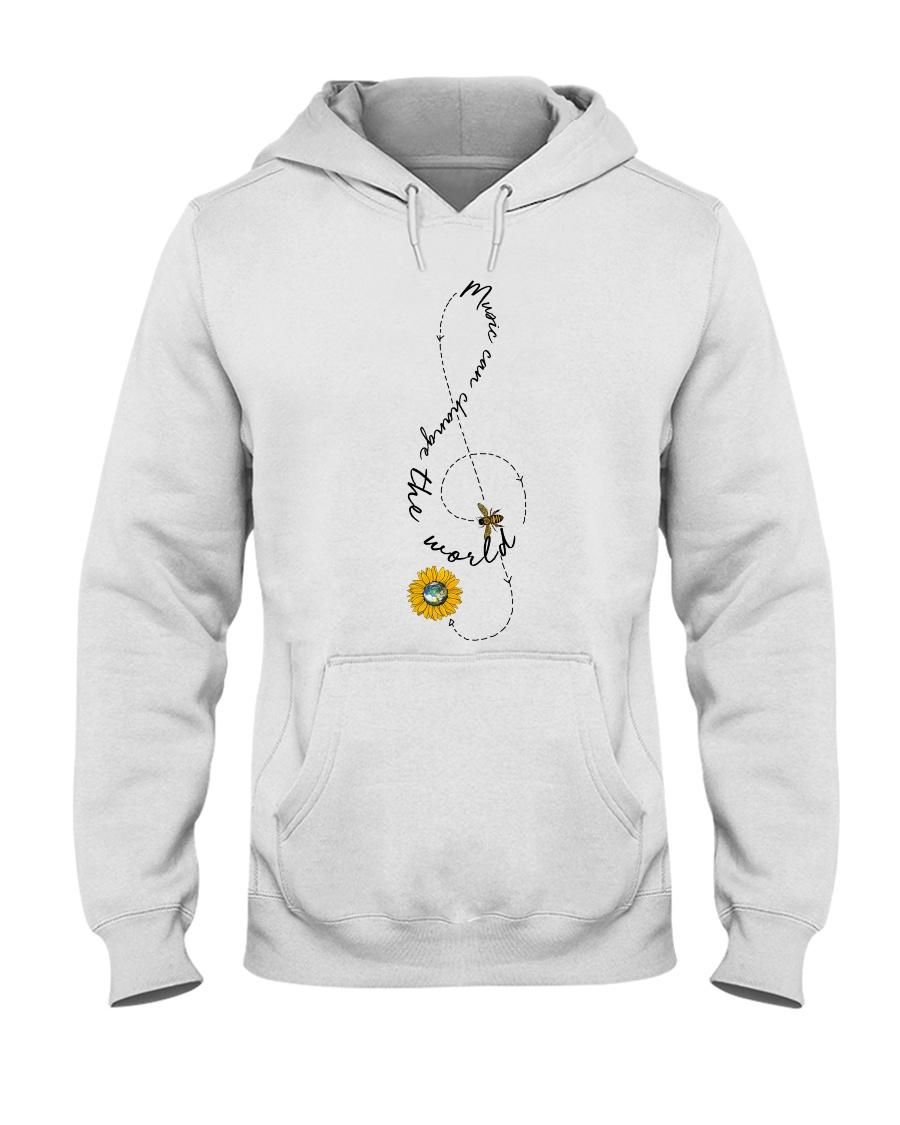 Music Can Change The World Hooded Sweatshirt
