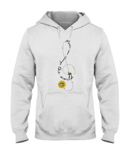 Music Can Change The World Hooded Sweatshirt front