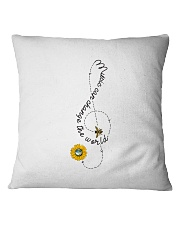 Music Can Change The World Square Pillowcase thumbnail