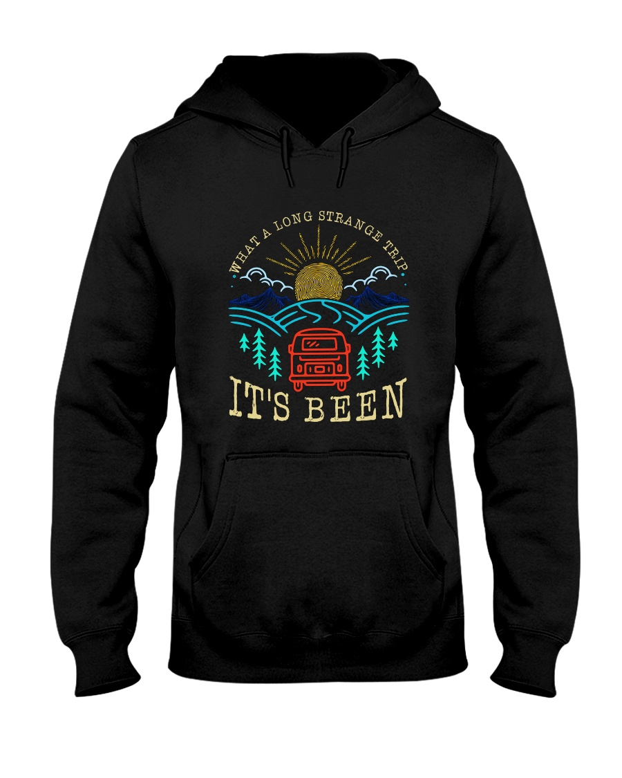What A Long Strange Trip Hooded Sweatshirt