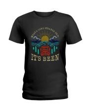 What A Long Strange Trip Ladies T-Shirt thumbnail