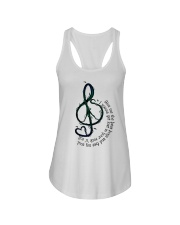 Rock And Roll Peace Love Music Ladies Flowy Tank thumbnail