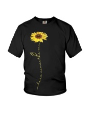 Here Comes The Sun Flower Youth T-Shirt thumbnail