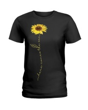 Here Comes The Sun Flower Ladies T-Shirt thumbnail