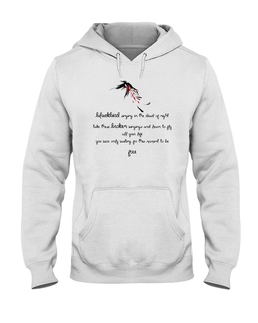 Blackbird Singing Hooded Sweatshirt