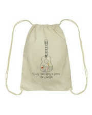 Every Little Things gonna Be Alright Drawstring Bag thumbnail