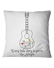 Every Little Things gonna Be Alright Square Pillowcase thumbnail