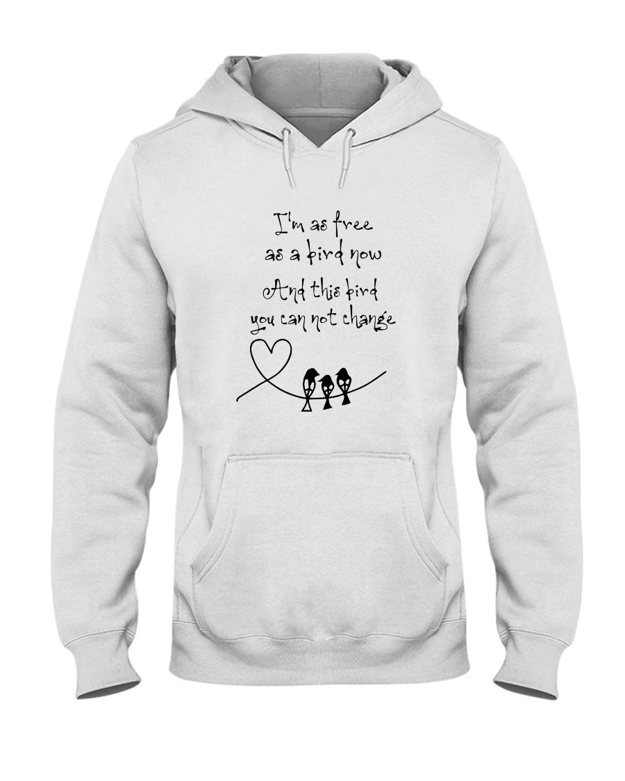 I Am As Freedom As A Bird 8 Hooded Sweatshirt