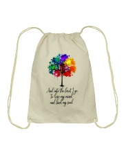 And Into The Forest I Go Drawstring Bag thumbnail