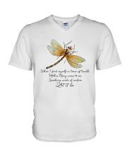 Speaking Words Of Wisdom V-Neck T-Shirt thumbnail