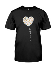 Let It Be Flower Music Hippie  Classic T-Shirt thumbnail