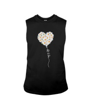 Let It Be Flower Music Hippie  Sleeveless Tee thumbnail