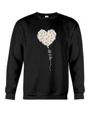 Let It Be Flower Music Hippie  Crewneck Sweatshirt thumbnail