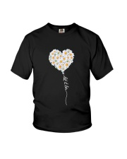 Let It Be Flower Music Hippie  Youth T-Shirt thumbnail