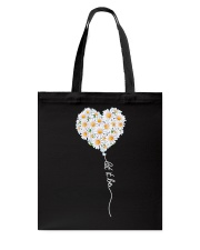 Let It Be Flower Music Hippie  Tote Bag thumbnail