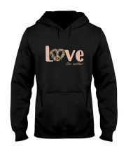 Love One Another Hooded Sweatshirt front